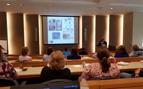 Dean Fadel discussing initiatives