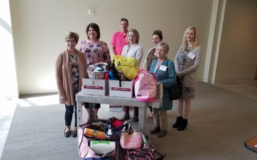 Donation for local YWCA
